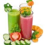 Freshly Juiced Veggies and Fruit