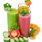 Freshly Juiced Veggies and Fruit