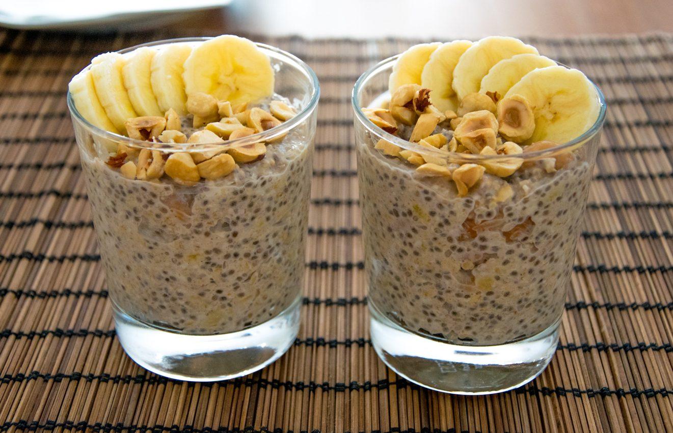 Banana Nut Overnight Oats - Really Healthy Foods Really Healthy Foods