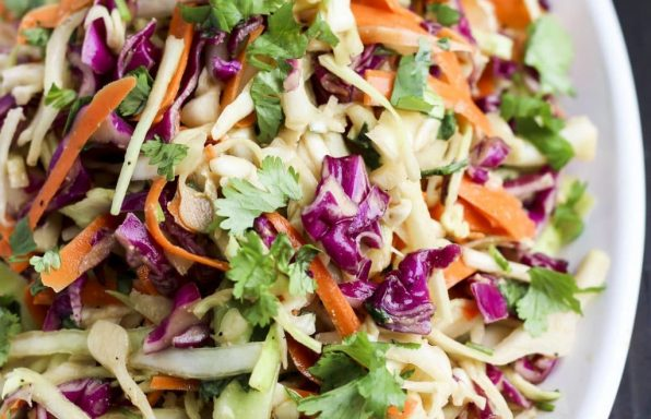 Ginger Asian Slaw