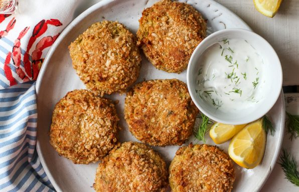 "Mock ""Crab"" Cakes"