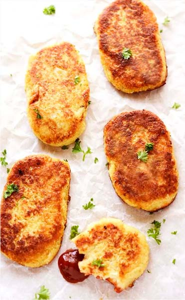 Gluten-Free Cauliflower Hash Browns