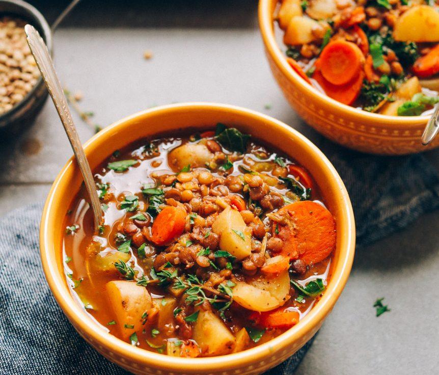 One-Pot Everyday Lentil Soup