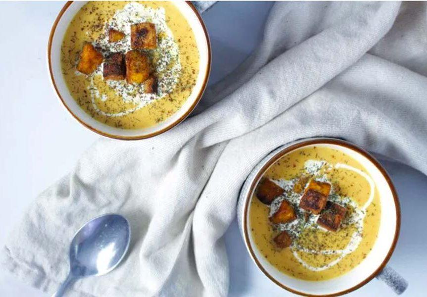 Cauliflower & Turmeric Soup
