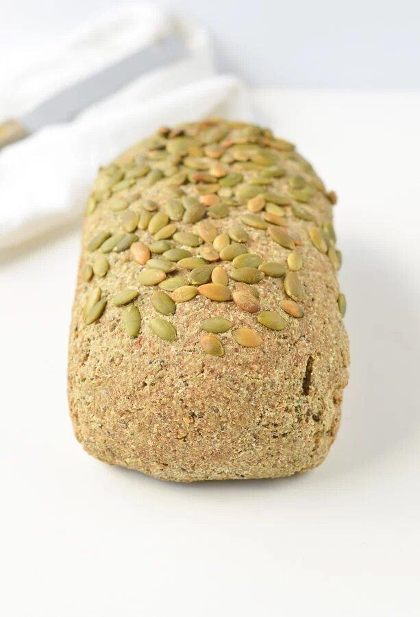 Gluten-Free Keto Vegan Bread Recipe